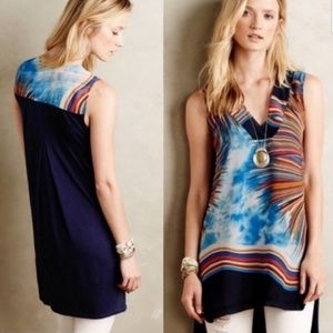Tiny Anthropologie Shoreline Tunic Tank size XS